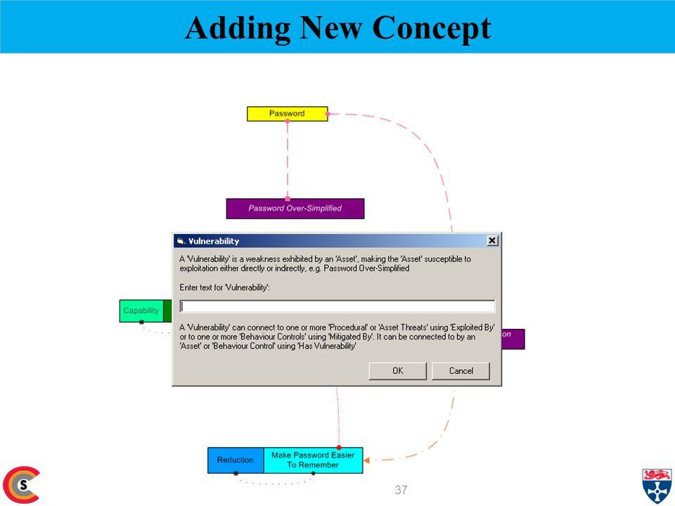 Adding New Concept 37