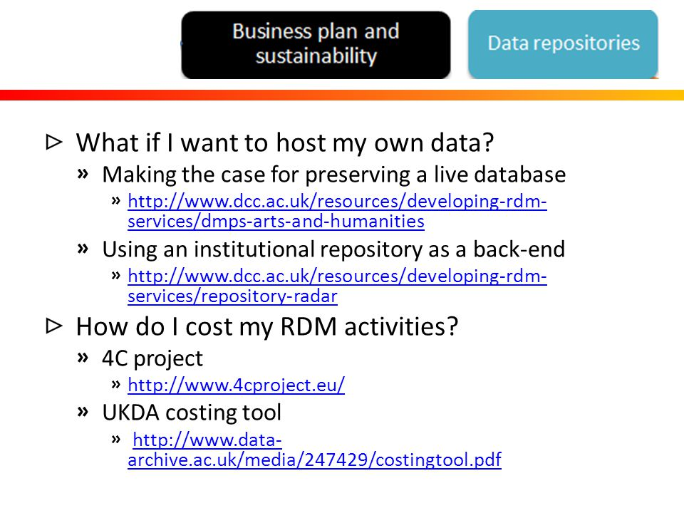 What if I want to host my own data.