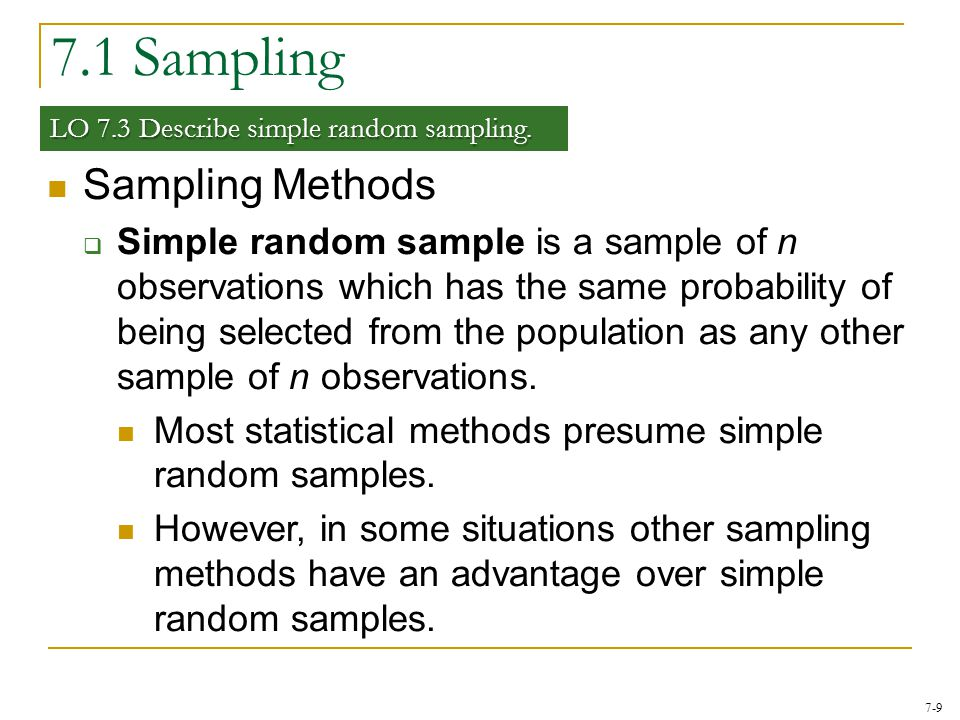 7-30 7.3 The Sampling Distribution of the Sample Proportion LO 7.7 The Central Limit Theorem for the Sample Proportion  If is normal, we can transform it into the standard normal random variable as  Therefore any value on has a corresponding value z on Z given by