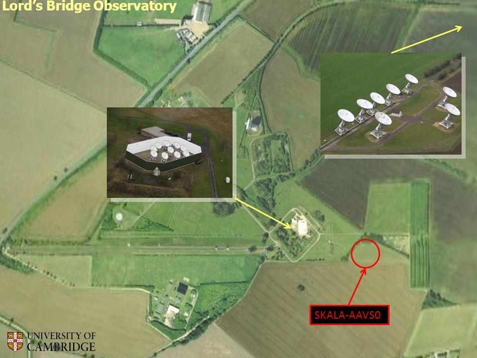 Lord's Bridge Observatory SKALA-AAVS0