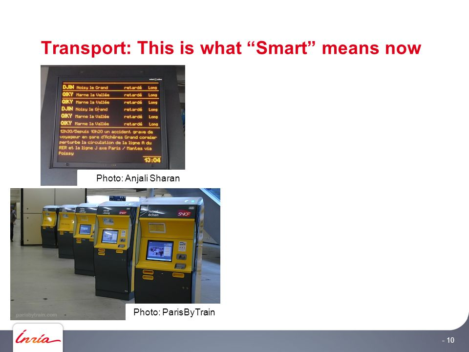 """Transport: This is what """"Smart"""" means now - 10 Photo: ParisByTrain Photo: Anjali Sharan"""