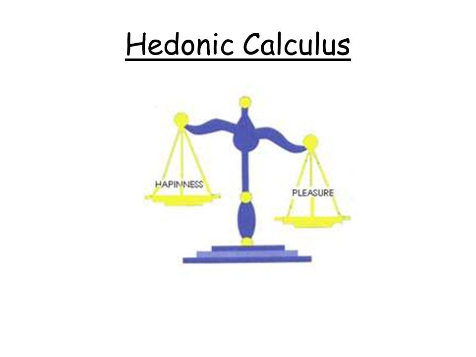 Hedonic Calculus