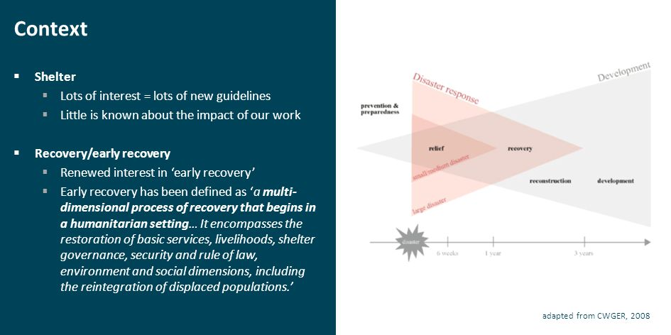Next steps…  Some questions:  What is recovery.What is resilience.