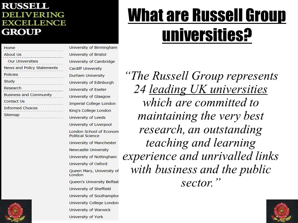 Identification of 'Potential' Here, students identified and tracked on basis of: – Analysis of GCSE results, Bullers Wood A Level targets – Dialogue with Heads of Department and subject teachers (November of Year 12) – Self selection and subsequent discussion with teachers – Evidence of INDEPENDENT LEARNERS (eg EPQ/MOOC) The group of students is fluid.