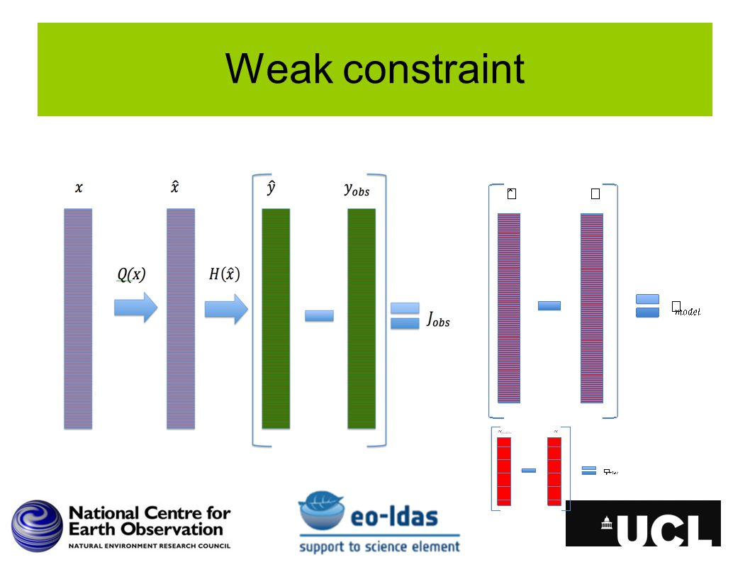 Weak constraint