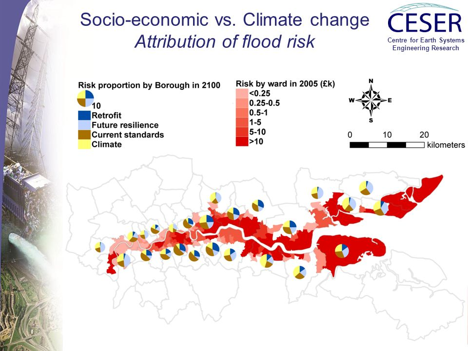 Centre for Earth Systems Engineering Research Drought risk: Climate vs. Socio-economic change