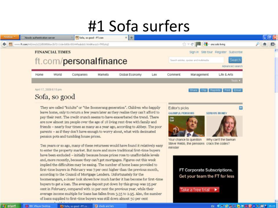 #1 Sofa surfers