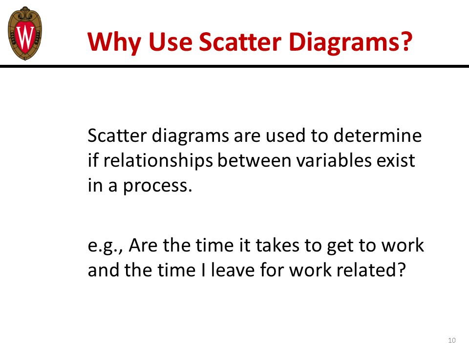 10 Why Use Scatter Diagrams.