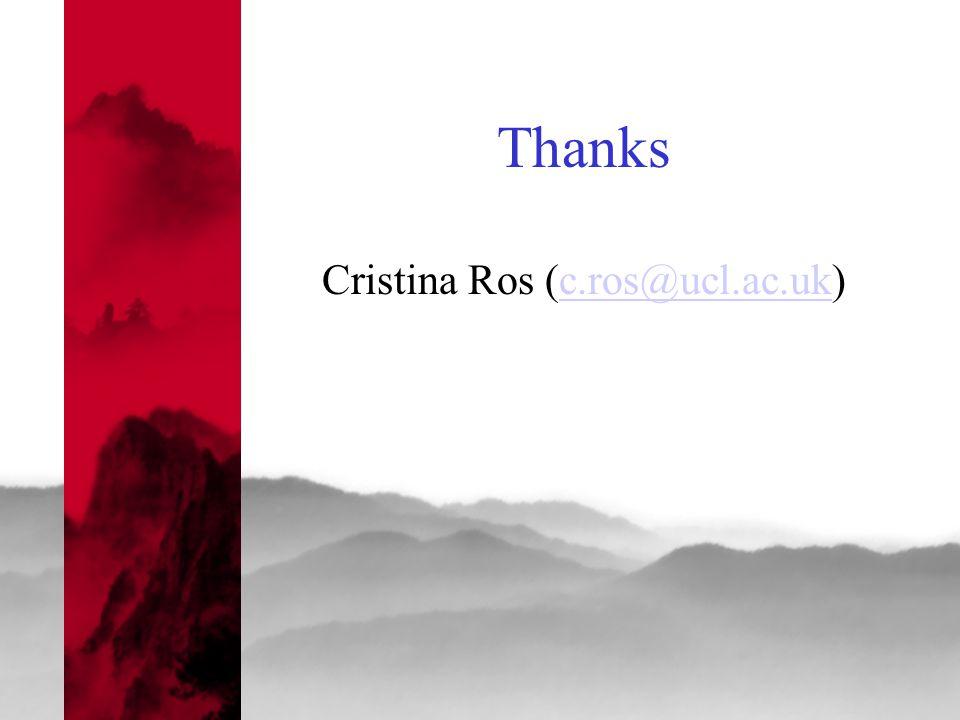 Thanks Cristina Ros (c.ros@ucl.ac.uk)c.ros@ucl.ac.uk