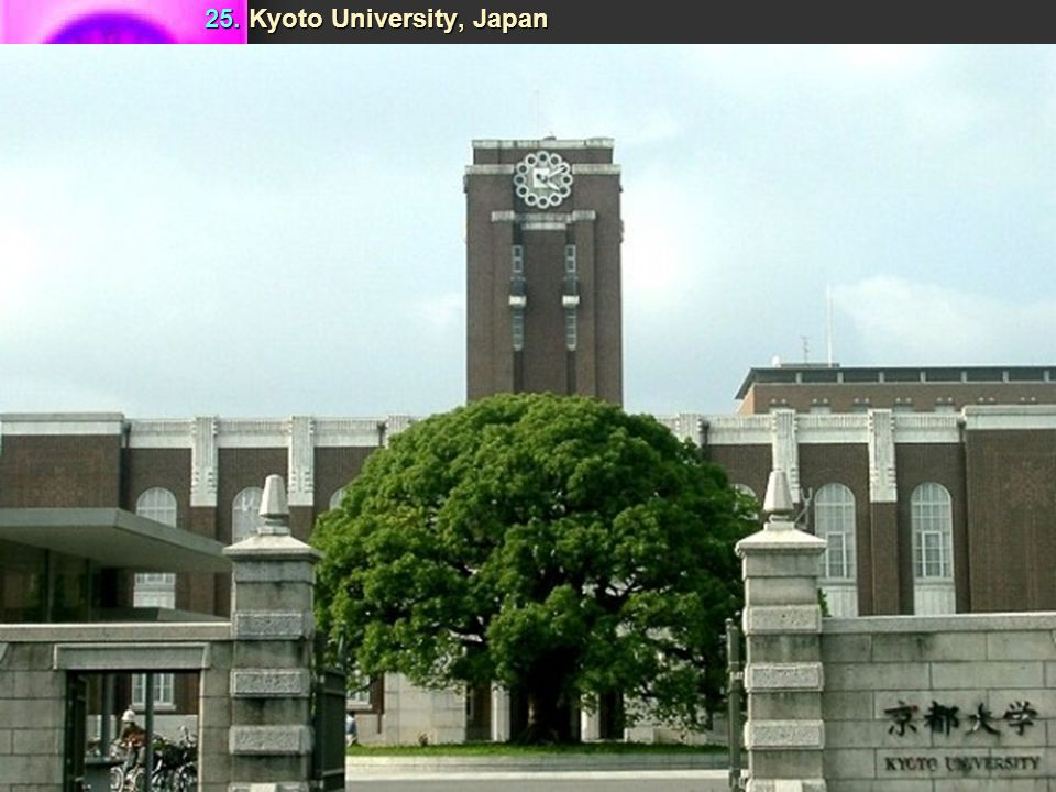 Top 25 Universities Of The World (World University Rankings 2009) Top 25 Universities Of The World (World University Rankings 2009)