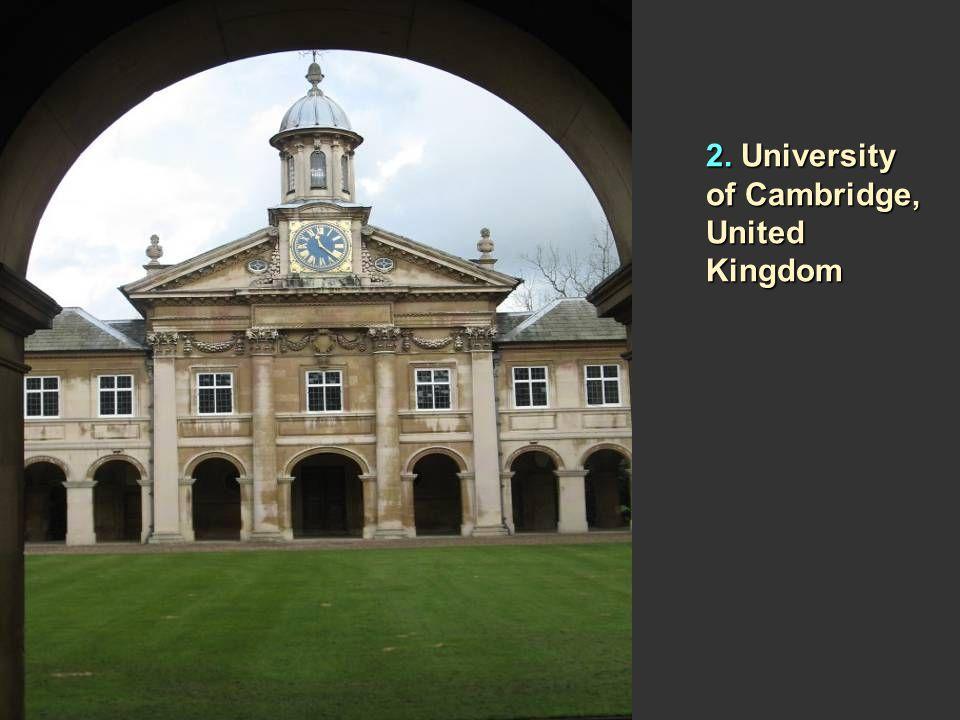 3. Yale University, United States