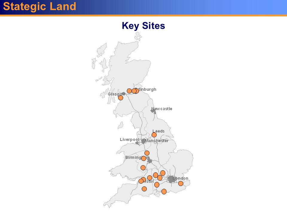Stategic Land Key Sites