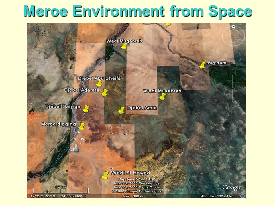 Meroe Environment from Space
