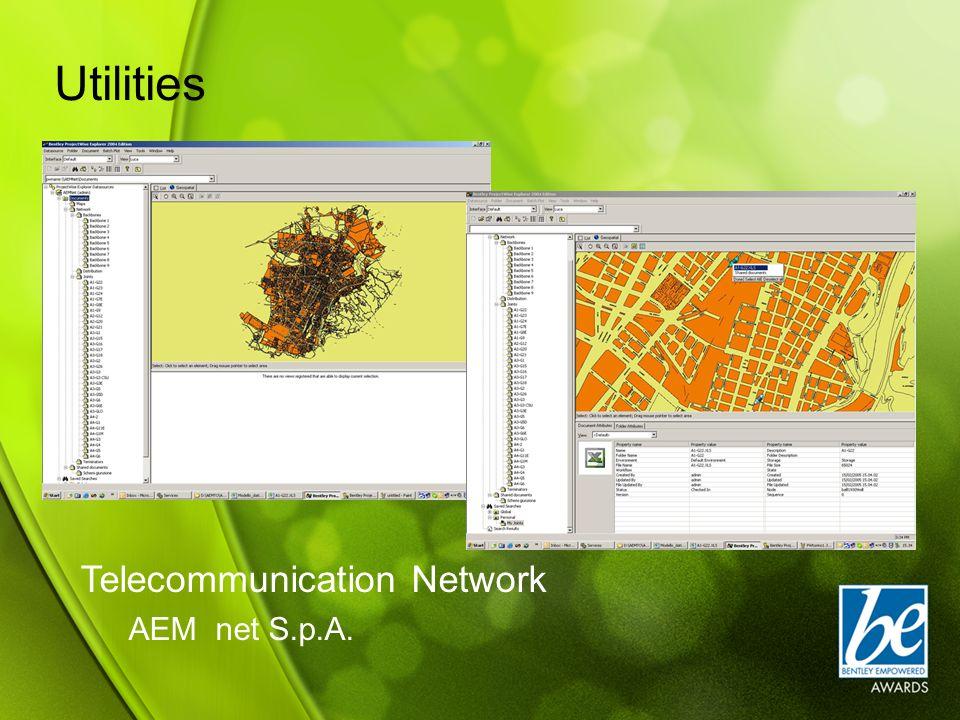 Telecommunication Network AEM net S.p.A. Utilities