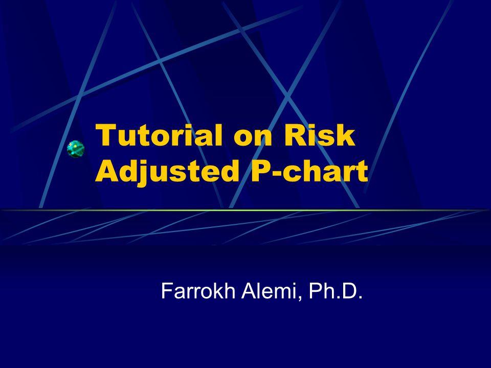 Tutorial on Risk Adjusted P-chart Farrokh Alemi, Ph.D.