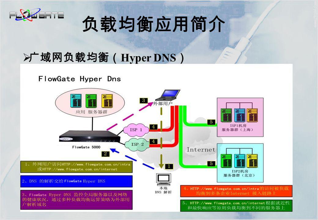  服务器机群负载均衡( Virtual Server ) 负载均衡应用简介