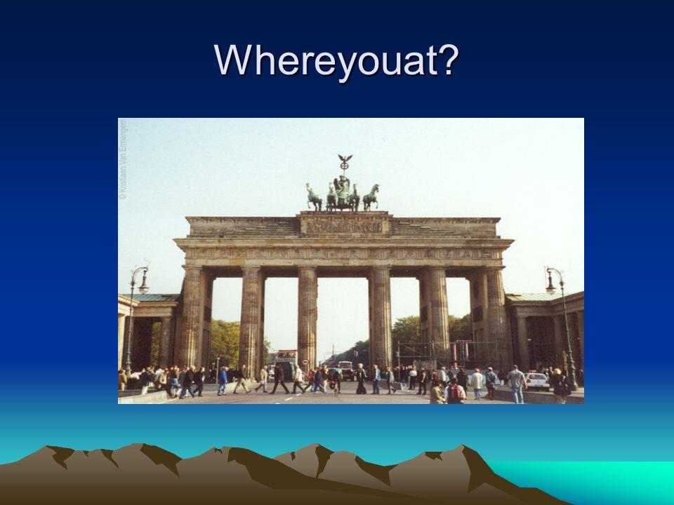 Whereyouat
