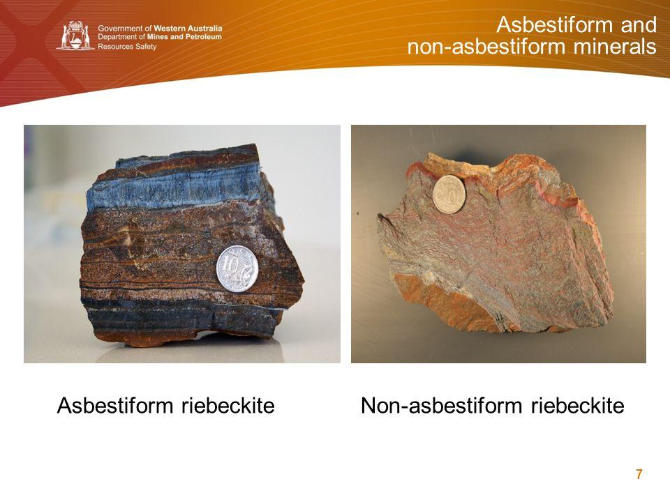 Types of asbestos 8