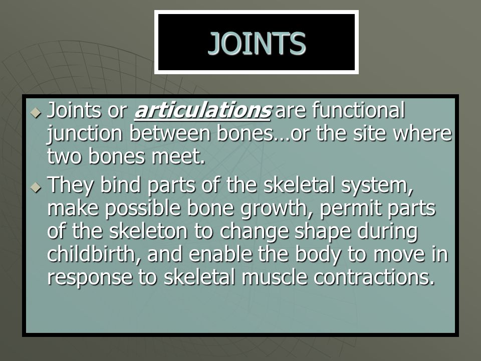 Dislocation  A dislocation occurs when bones are forced out of alignment.
