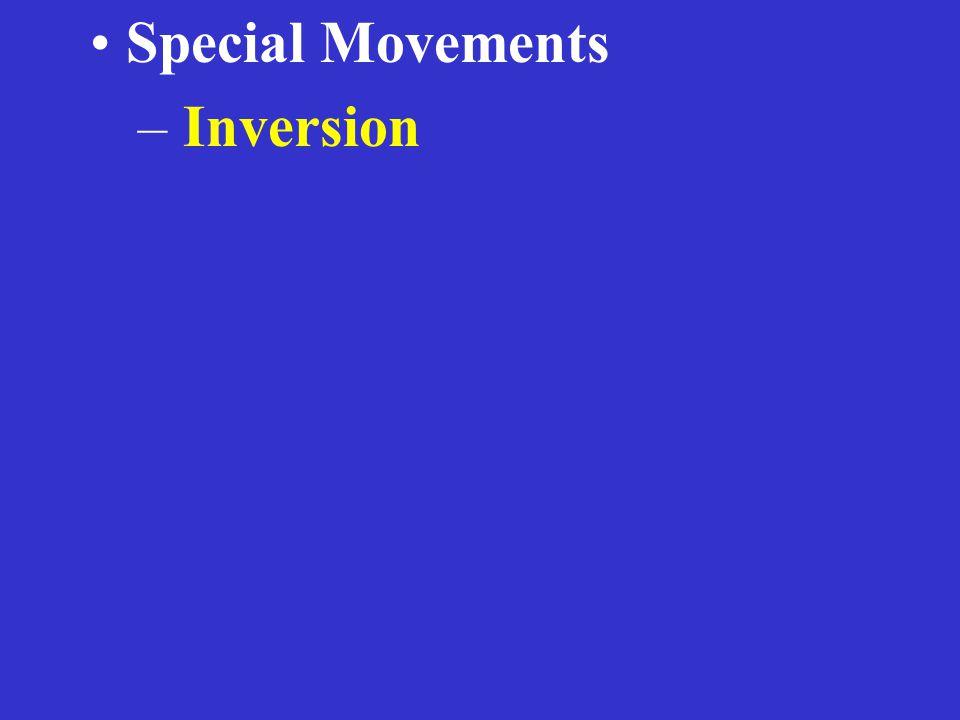 – Inversion