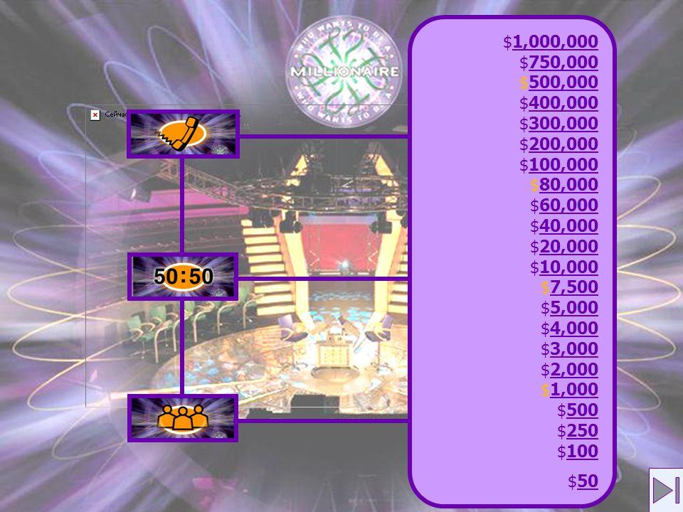 $1,000,0001,000,000 $750,000750,000 $500,000500,000 $400,000400,000 $300,000300,000 $200,000200,000 $100,000100,000 $80,00080,000 $60,00060,000 $40,00040,000 $20,00020,000 $10,00010,000 $7,5007,500 $5,0005,000 $4,0004,000 $3,0003,000 $2,0002,000 $1,0001,000 $500500 $250250 $100100 $5050