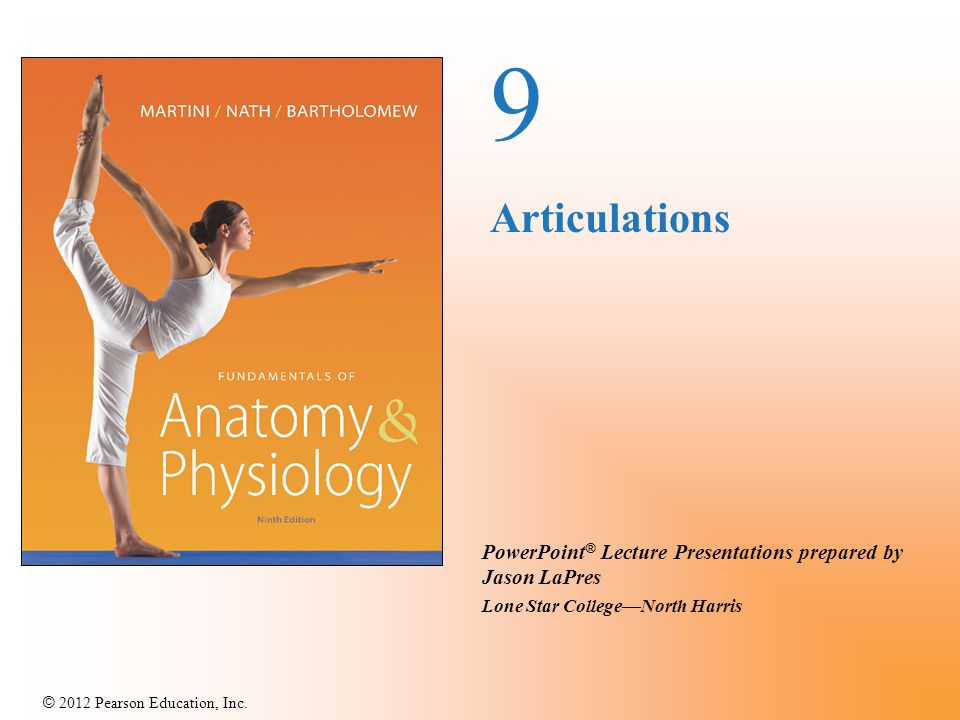 © 2012 Pearson Education, Inc. 2.Angular Movement Circumduction Circular motion without rotation