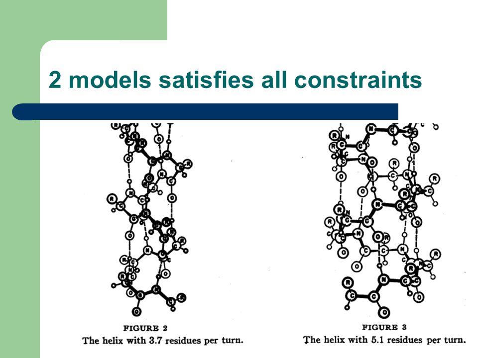 2 models satisfies all constraints
