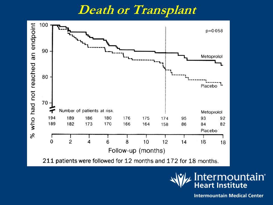 Death or Transplant