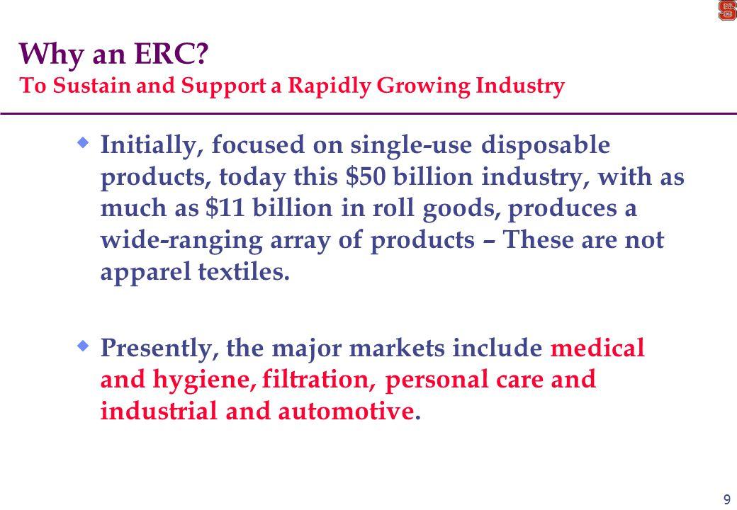 9 Why an ERC.