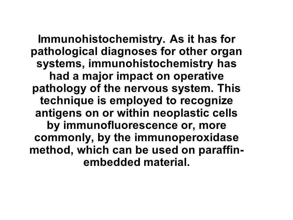 Immunohistochemistry.