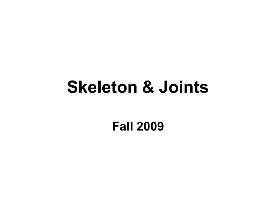 Carpal Bones Form wrist 2 rows (4 bones each)