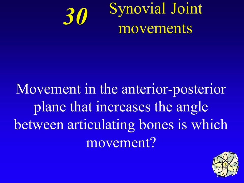 Opposition 20 Synovial Joint movements