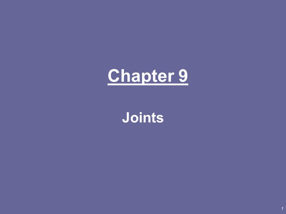 2 Joint = point of contact –between 2 bones –between cartilage and bone –between teeth and bone Joints hold bones together but permit movement Arthrology = study of joints Kinesiology = study of motion INTRODUCTION