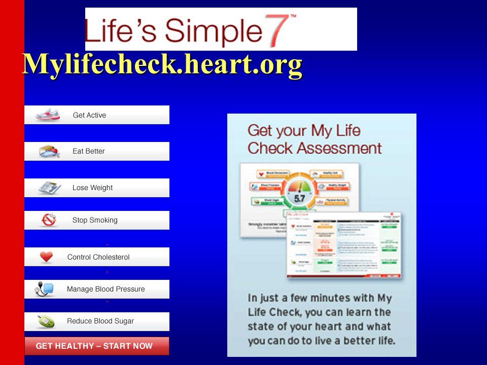 Mylifecheck.heart.org