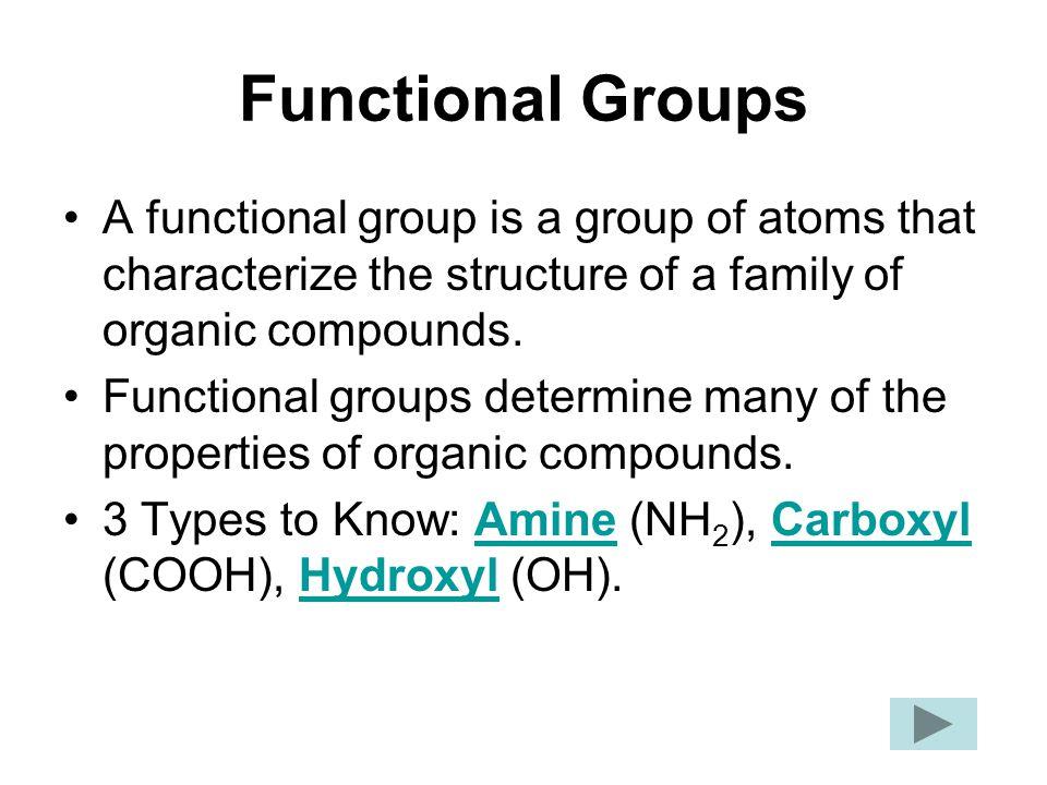 Amine Group N-H 2 Functional Groups