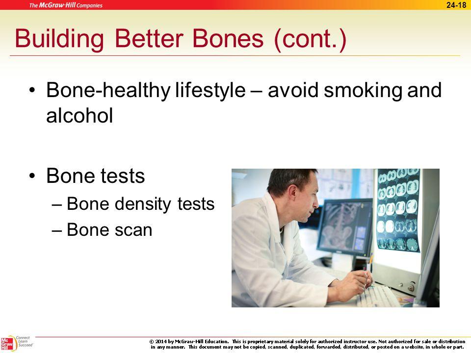 24-17 Building Better Bones Bone – healthy diet – Vitamin D – Calcium Bone-healthy exercises – Weight-bearing – Strength-training