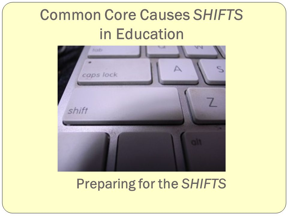 Shifts Demanded by the CCSS: Science Literacy Skills Reading Key Ideas and Details Close reading and textual evidence to support analysis of text Craft and Structure Text Structure