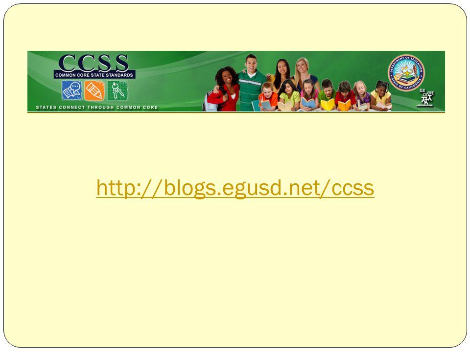 http://blogs.egusd.net/ccss