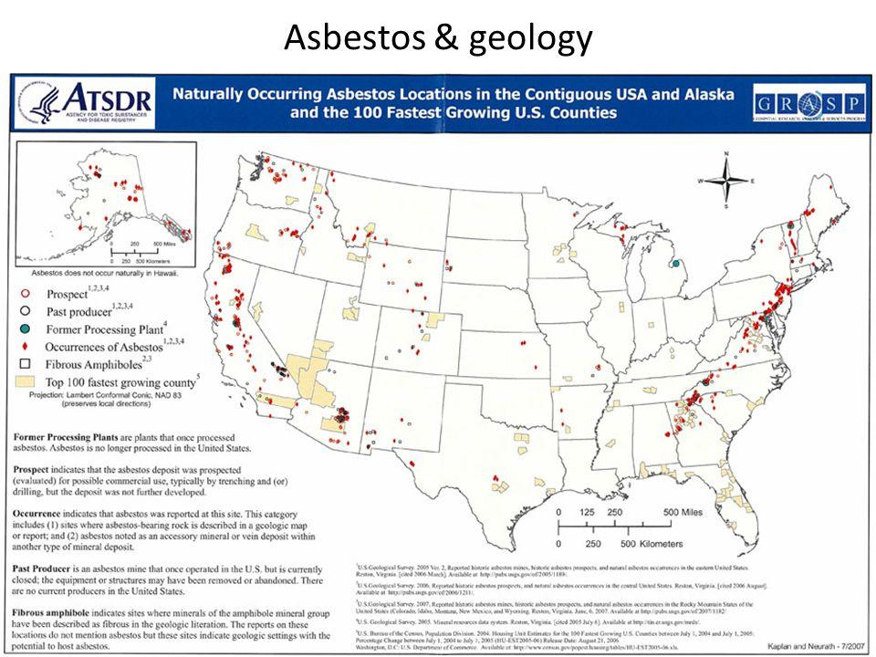 Asbestos & geology