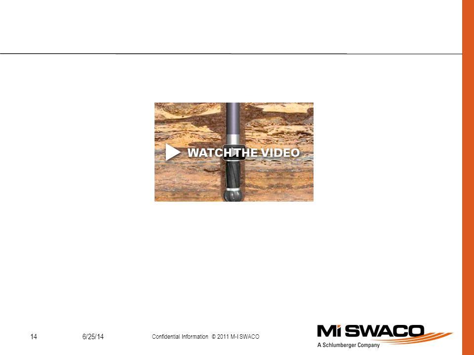 146/25/14 Confidential Information © 2011 M-I SWACO