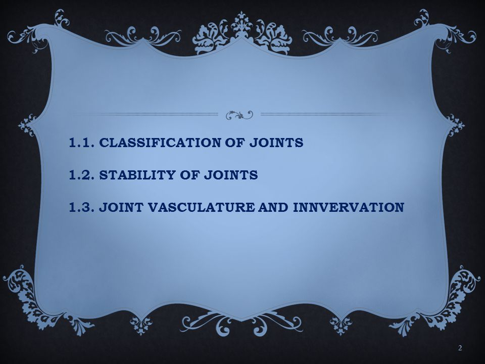 Types of synovial joints 5.