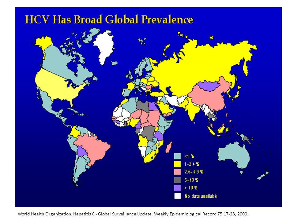 World Health Organization. Hepatitis C - Global Surveillance Update.