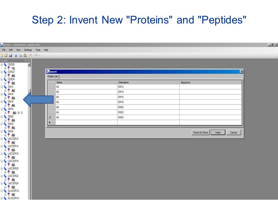 Step 2: Invent New Proteins and Peptides