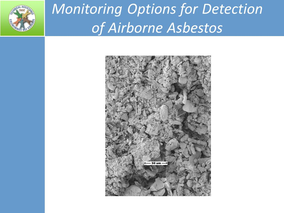 Monitoring Options for Detection of Airborne Asbestos