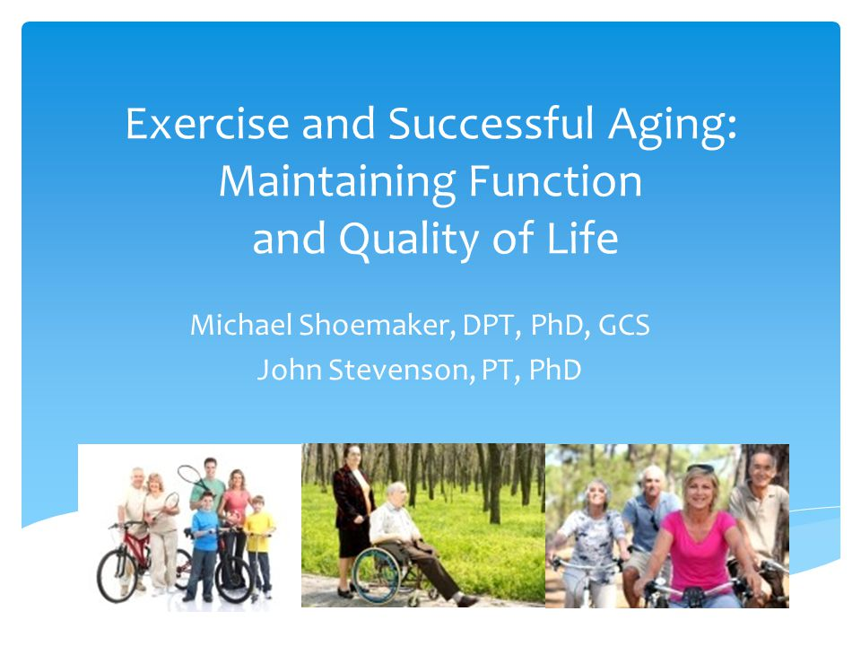 Aging, Disease, and Exercise: Age-Related Changes  Changes in Other Systems  Insulin sensitivity  Glucose tolerance  Immune function  Bone mass/strength/density  Collagen cross-linkage, thinning cartilage, tissue elasticity  Proprioception  Gait velocity  Gait stability