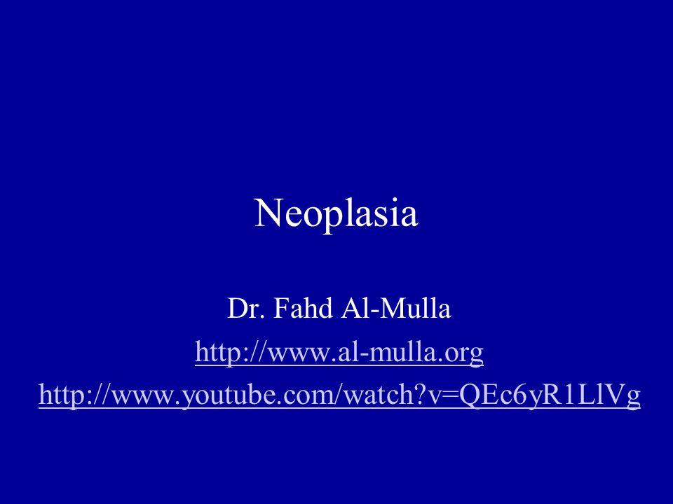 Neoplasia Neoplasia I Definition Metaplasia, anaplasia, dysplasia, Ca in Situ, Benign vs.