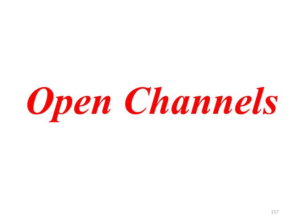 117 Open Channels
