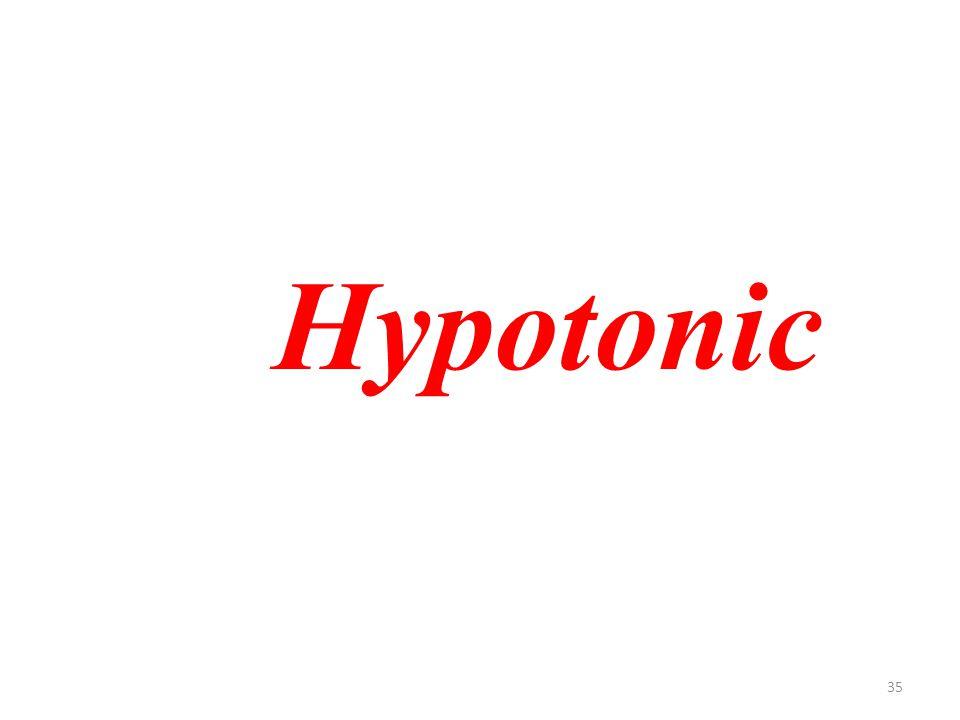 35 Hypotonic
