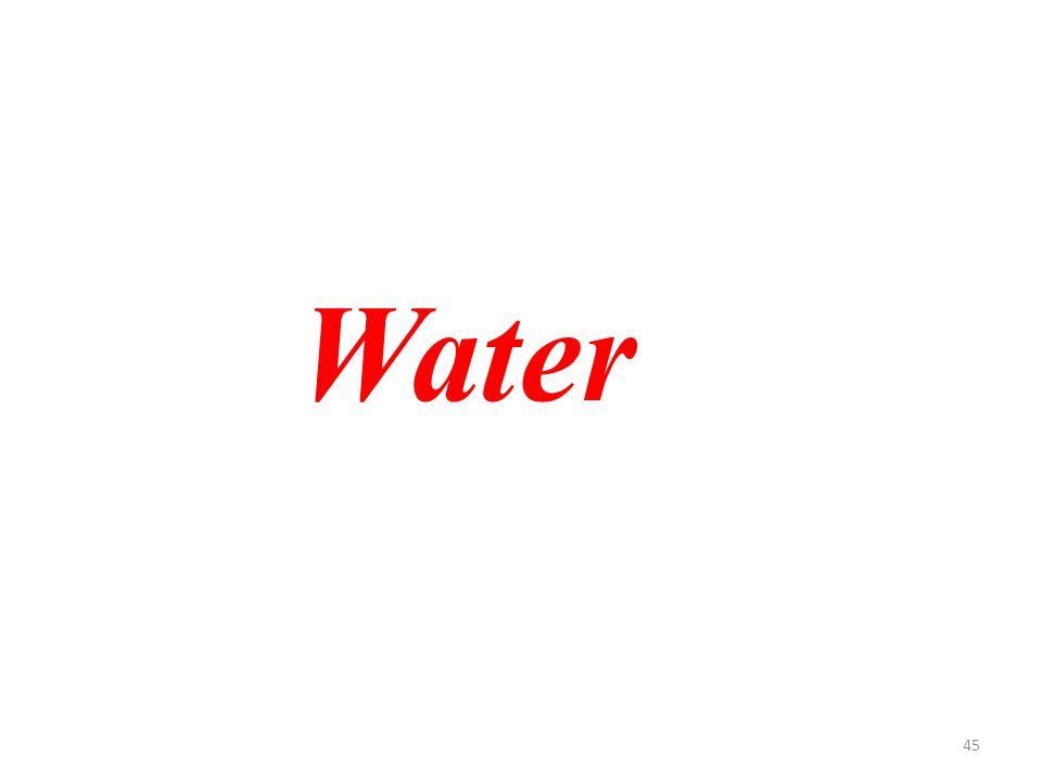 45 Water