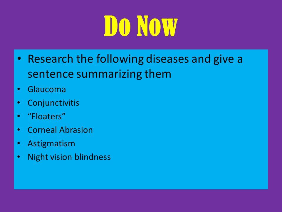 10.9 Sense of Sight